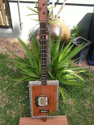 Cigar Box Guitar By Red Dragon CBGs