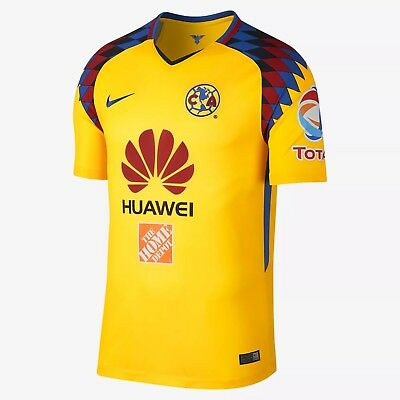 471fc3bbf44 NIKE CLUB AMERICA Official 2017 2018 Third Soccer Football Jersey ...