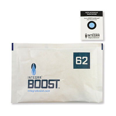 Integra Boost 67 Gram 62% Humidity Pack Sold Individually