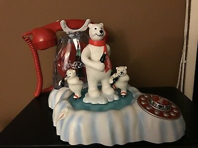 Coca Cola Animated Polar Bear Phone