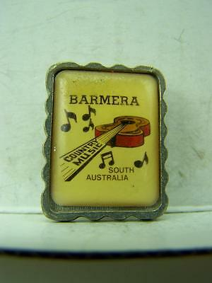 1980's Barmera S.A. Country Music Festival pin back badge                1085