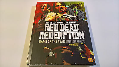 Red Dead Redemption Game of the Year Collector's Edition Strategy Guide Book