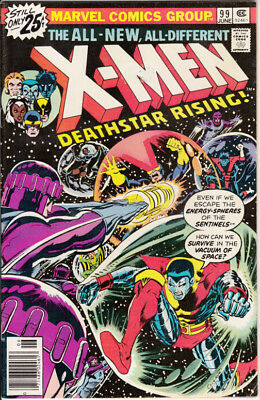 Marvel X-Men, #99, 1976, 1st black Tom Cassidy, Chris Claremont, Dave Cockrum