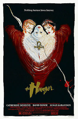 The Hunger (1983) Original Movie Poster  -  Rolled