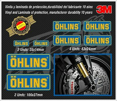 Decal Set Ohlins ,stickers-pegatinas-aufkleber-autocollants-adesivi,