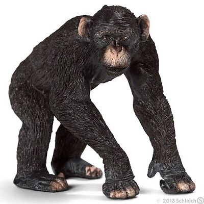 Schleich Chimpanzee Collectible Toy Figure New w Tag Item 14678 RETIRED and RARE