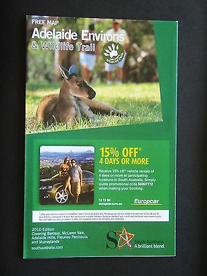 Adelaide Environs & Wildlife Trail 2010 Edition Map