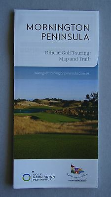 Mornington Peninsula Official Golf Touring Map And Trail Brochure