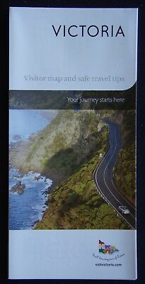 Victoria Visitor Map And Safe Travel Tips Brochure (Adv1)