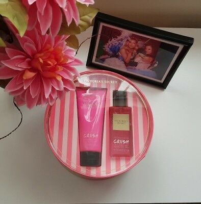 NEW Victorias Secret Crush Fragrance Mist and Lotion Gift Set