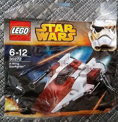 LEGO 30272 STAR WARS - A WING STARFIGHTER - BRAND NEW SEALED Polybag
