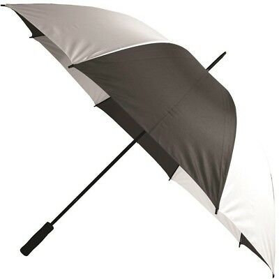 Firm Grip Golf Umbrella in Black and White