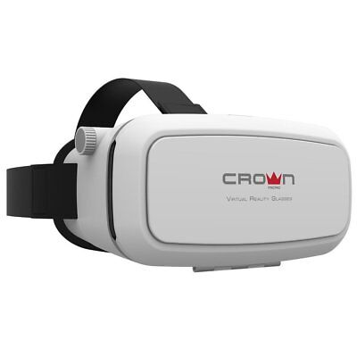 """Crown Micro VR Brille CMVR-07 VR Glasses Virtual Reality 3D 3.5-6"""" Smartphones"""