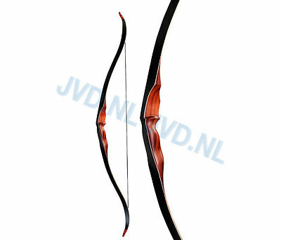 Recurve Bow Black Bear 58 Inches 20 - 60 Lbs