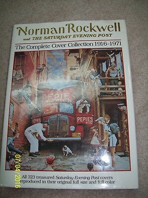 """Norman Rockwell and The Saturday Evening Post """"The Complete Cover Collection """""""