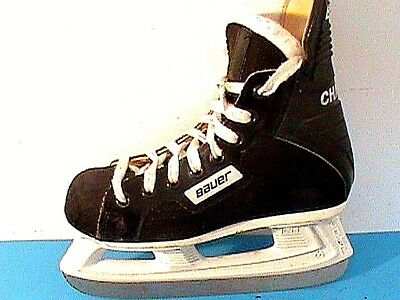 Bauer Charger Ice Hockey Skates Size 3 US (2 D) Mens Boy Junior Youth Kids