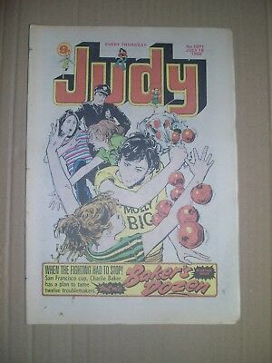 Judy issue 1071 dated July 19 1980