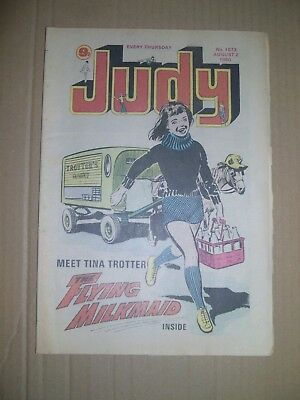 Judy issue 1073 dated August 2 1980
