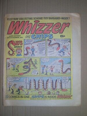 Whizzer and Chips issue dated September 27 1975