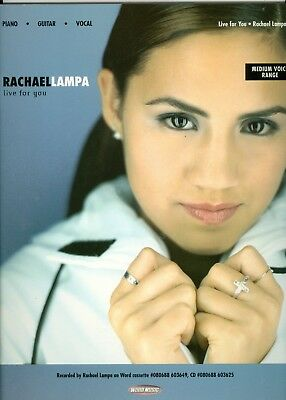 Rachael Lampa Songbook sheet music Live For You