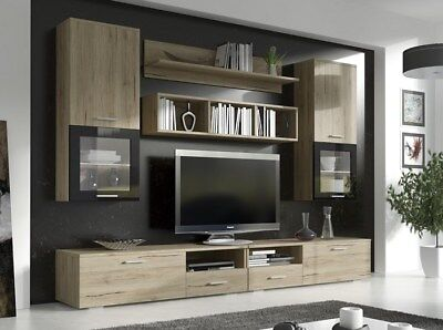 Living room furniture set FRANCO / TV Stand / Wall Unit