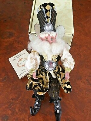 """MARK ROBERTS  Art Deco Fairy New in Box small 11"""" tall 51-02406 LE 447 OF 2500"""