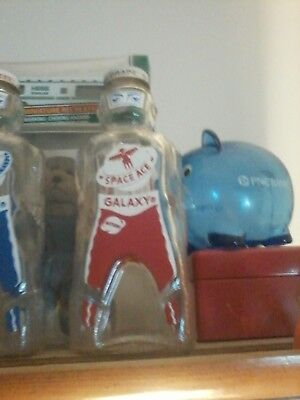 Bottle Coin Bank Galaxy Monster Spaceman Astronaut Syrup 1953
