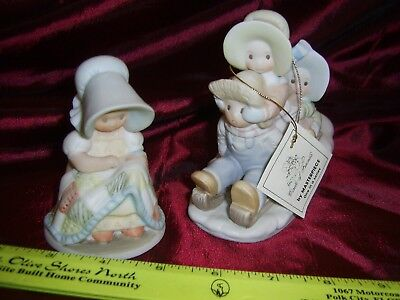 LOT OF 2 Circle of Friends - HOLLY HOBBIE STYLE Figurines 1993  NEW w/Tag