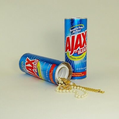 Stash Can Ajax Hidden Diversion Home Safe Hide Cash Jewelry Secret +