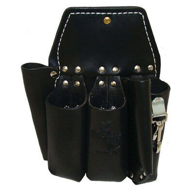Brand New !! Buckingham Leather Lineman 5-Pouch Tool Holster