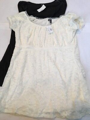 Maurices Lot Of 2 Tops Large New NWT