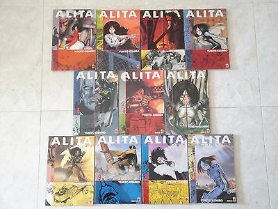 PANINI COMICS PLANET MANGA - ALITA COLLECTION 1a SERIE COMPLETA SCONTO 20%!