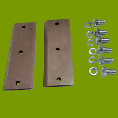 Greenfield Chipper Blades (pair with bolts) GT3269, GT3332