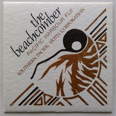 The Beachcomber Pacific Harbour Fiji Southern Pacific Hotel Coaster (B309)