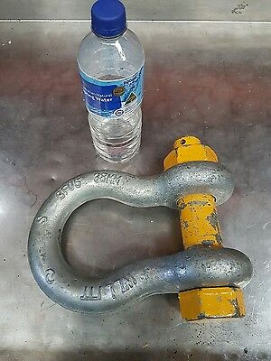 17 Ton Bow Shackle -  For Crane Rigging Lifting