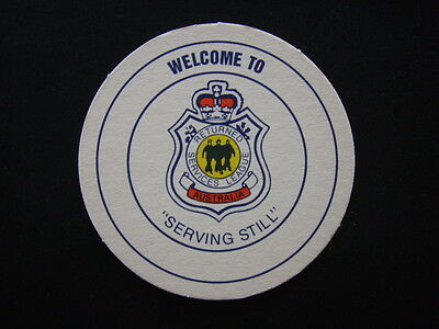 Rsl Returned Services League Australia Serving Still Generic Coaster