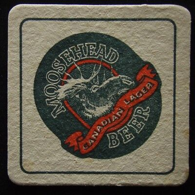 Moosehead Canadian Lager Beer Quality & Tradition Coaster (B307)