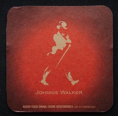 Johnnie Walker Red Label Experience The Taste Keep Walking Coaster (B303)