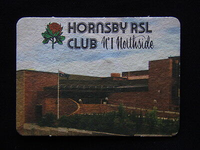 HORNSBY RSL CLUB No1 NORTHSIDE 4 HIGHT ST 4777777 BINGO DISCO SPIN & WIN COASTER