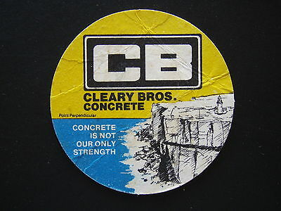 Cb Cleary Bros. Concrete Point Perpendicular Coaster