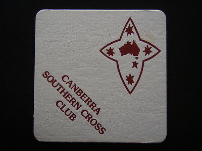 Canberra Southern Cross Club Coaster
