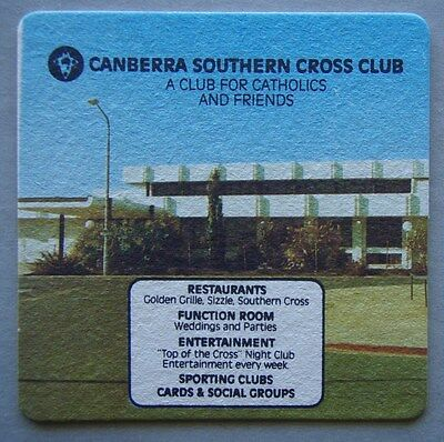 Canberra Southern Cross Club For Catholics Coaster