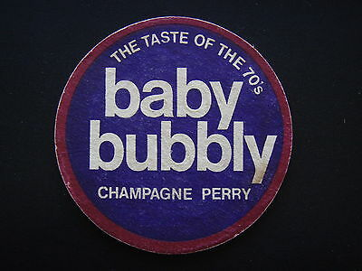 BABY BUBBLY CHAMPAGNE PERRY THE TASTE OF THE 70's COASTER