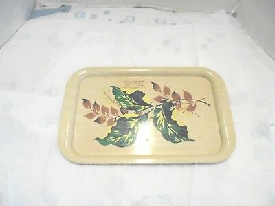 metal serving tray noble kahler trucking conoco station garwin iowa gas & oil
