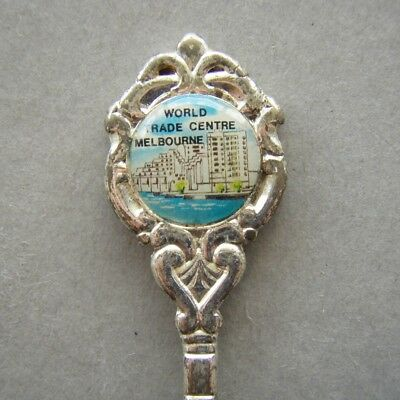 World Trade Centre Melbourne Silverplated Souvenir Spoon Teaspoon (T96)