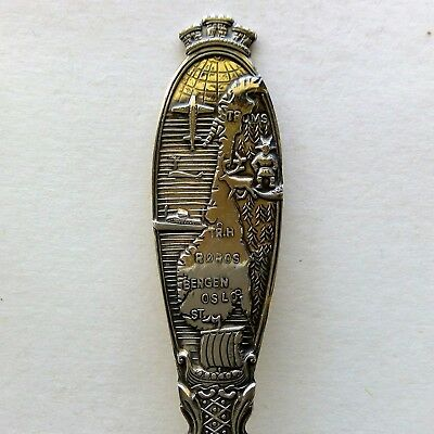 Norge Norway Stange Souvenir Spoon Teaspoon (T136)