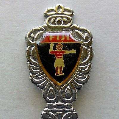 Fiji Traffic Policeman Souvenir Spoon Teaspoon (T123)
