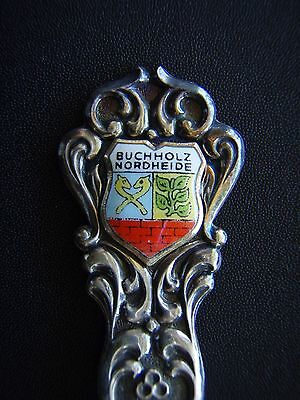 City Of Buchholz Nordheide Coat Of Arms Teaspoon