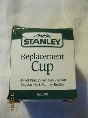 Aladdin Stanley Steel Thermos REPLACEMENT CUP #100-34686 NIB Fits All Pint & Qts