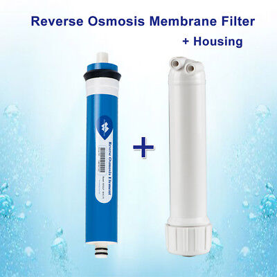 MS® 75GPD RO Membrane Replace for Watts Premier 50GPD +Housing Fit 5SV,4SV Units